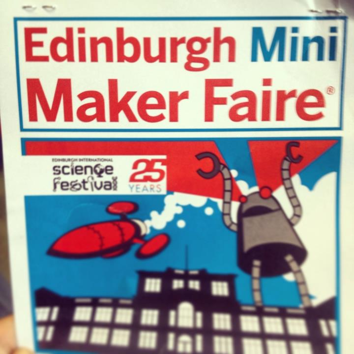 At the Mini Maker Faire