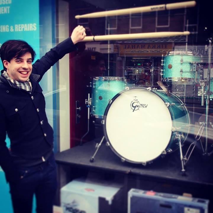 Tom's dream drum kit!
